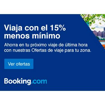15 descuento en booking.com