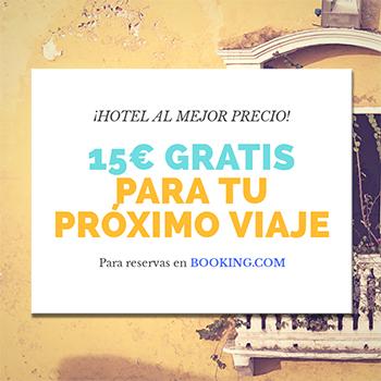 15 euros descuento en booking.com