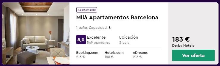 apartamento en barcelona para puente de octubre 2020 desde 12 euros persona y noche