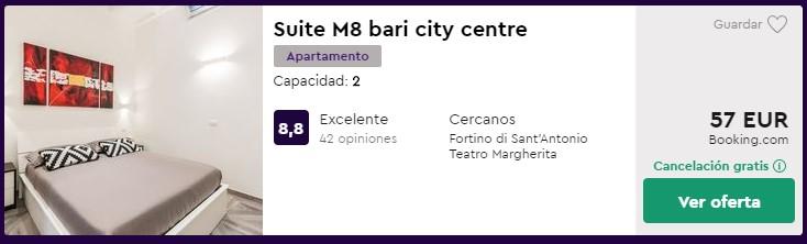 Apartamento en Bari desde 28,50 euros por persona y noche