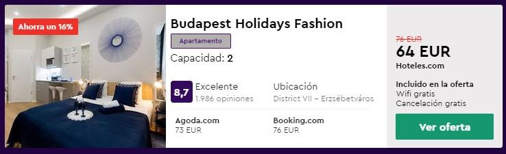 apartamento en budapest en abril desde 32 euros por persona y noche