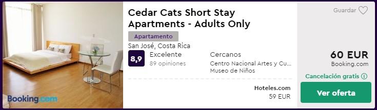 apartamento en costa rica desde 30 euros por persona y noche