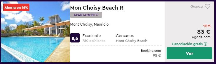 Apartamento en Mauricio desde 41 euros por persona y noche