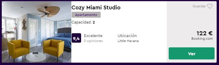 Apartamento en Miami desde 61 euros por persona y noche