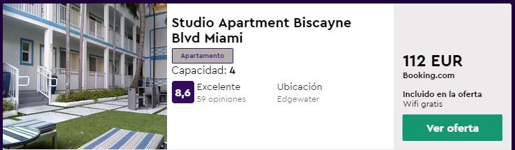 apartamento en miami en marzo desde 28 euros por persona y noche
