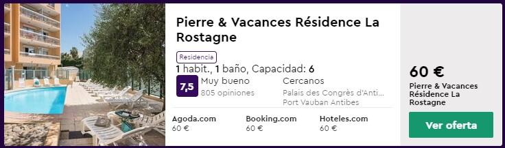 apartamento en niza desde 10 euros persona y noche en junio