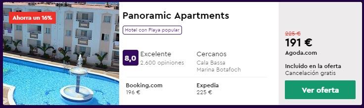 apartamento en verano en ibiza desde 95 euros persona y noche