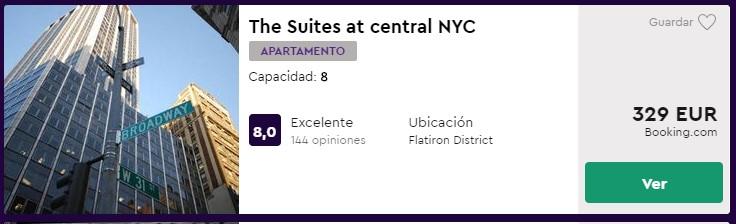 apartamento para nochevieja en nueva york desde 41 euros por persona y noche