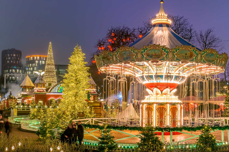 dinamarca copenhague navidad tivoli