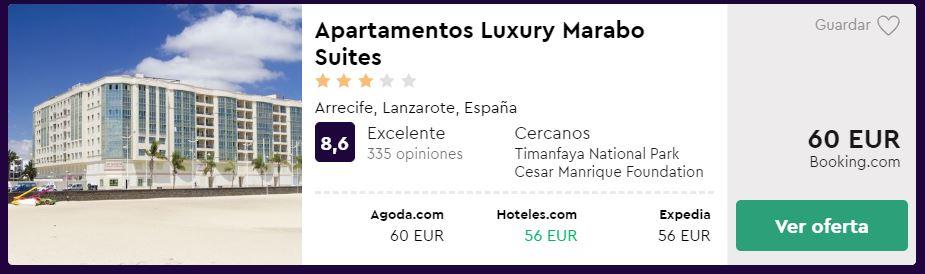 escapada lanzarote con hotel desde 60 euros fin de semana