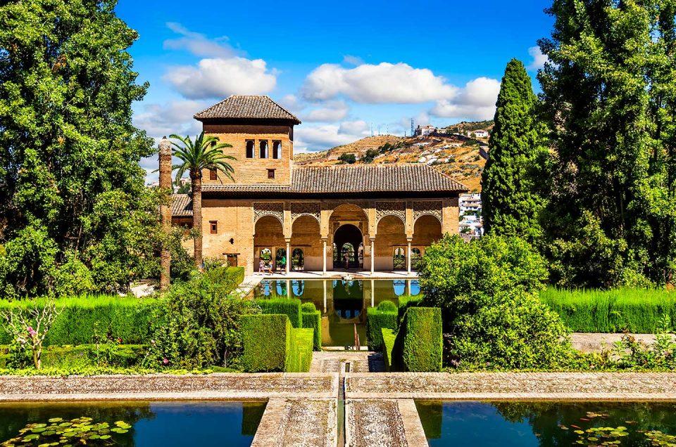 españa granada alhambra palacio