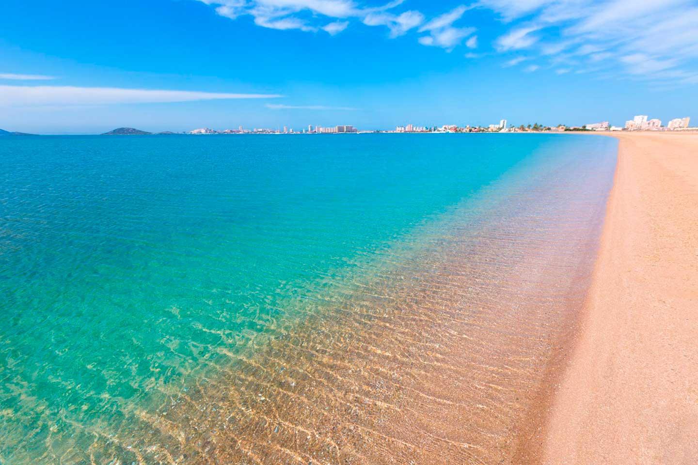 españa la manga del mar menor, playa paraiso