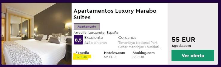 fin de semana en apartamento en lanzarote desde 26 euros persona y noche