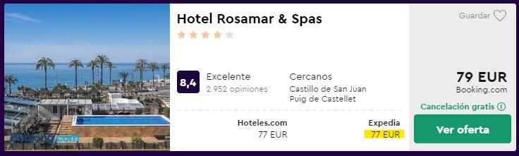 Hotel 4* en Lloret de Mar desde 38,50 euros por persona y noche