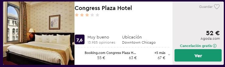 hotel 3 estrellas en chicago en febrero 2020 desde 26 euros persona y noche