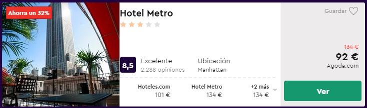 hotel 3 estrellas en nueva york en san valentin 2020 desde 46 euros persona y noche