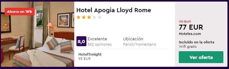 hotel 3 estrellas en roma para semana santa 2020 desde 38 euros por persona y noche