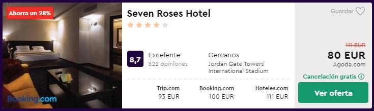 hotel 4 estrellas en amman en enero 2020 desde 40 euros persona y noche