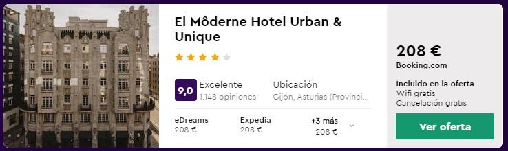 hotel 4 estrellas en asturias para puente de octubre 2020 desde 35 euros persona y noche