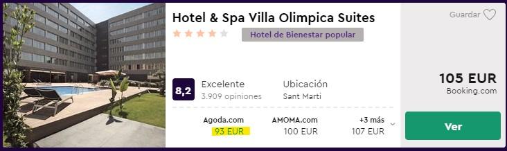 hotel 4 estrellas en barcelona desde 46 euros por persona y noche para halloween
