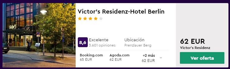 Hotel 4* en Berlín por San Valentín desde 31 euros por persona y noche