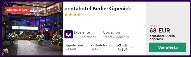 hotel 4 estrellas en berlin para semana santa 2020 desde 34 euros por persona y noche