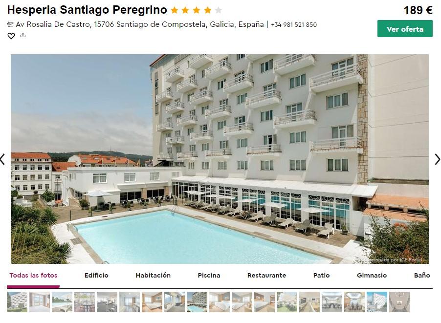 hotel 4 estrellas en compostela en septiembre desde 31 euros persona y noche