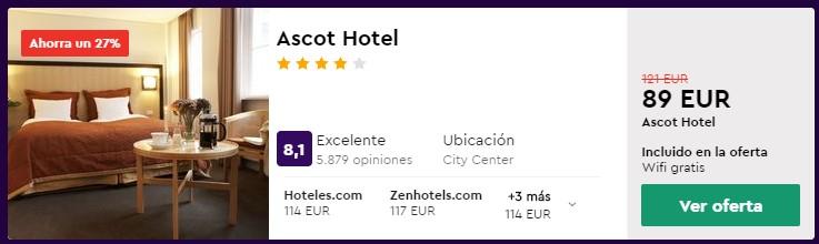 hotel 4 estrellas en copenhague centro en marzo 2020 desde 44 euros persona y noche