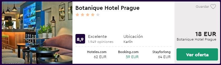 hotel 4 estrellas en el centro de praga desde 9 euros por persona y noche para san valentin