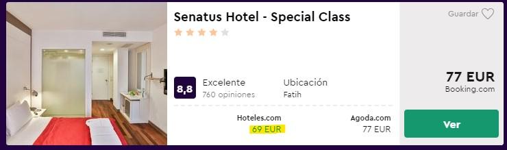 hotel 4 estrellas en estambul para semana santa desde 34 euros por persona y noche