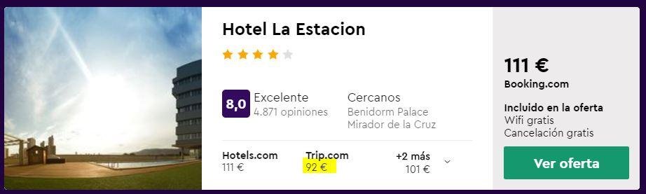 hotel 4 estrellas en julio 2020 en benidorm desde 46 euros por persona y noche