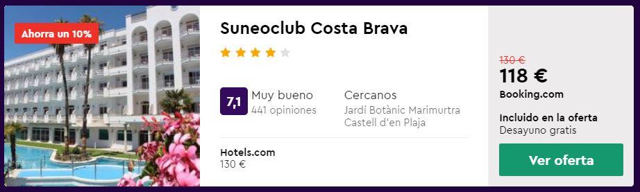 hotel 4 estrellas en julio 2020 en lloret de mar desde 59 euros por persona y noche