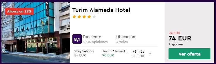 hotel 4 estrellas en lisboa para semana santa 2020 desde 37 euros por persona y noche