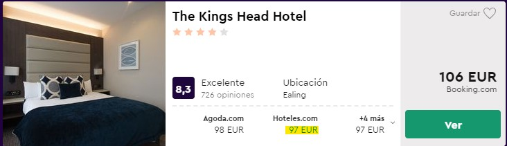 hotel 4 estrellas en londres centro en nochevieja desde 48 euros por persona y noche