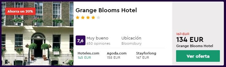 hotel 4 estrellas en londres para mazo 2020 desde 67 euros por persona y noche