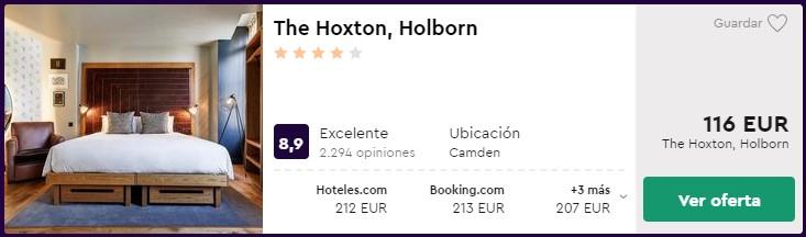 hotel 4 estrellas en londres por san valentin desde 58 euros persona y noche