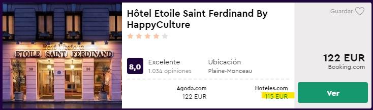 hotel 4 estrellas en paris centro para nochevieja desde 57 euros por persona y noche