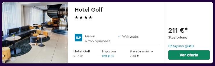 Hotel 4 estrellas en Praga para puente de octubre desde 23 euros persona y noche