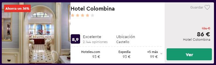Hotel 4* en Venecia desde 43 euros por persona y noche