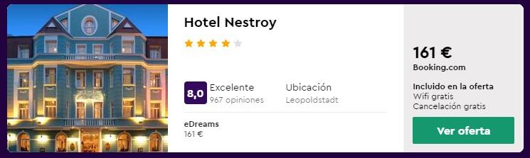 hotel 4 estrellas en viena para puente de octubre 2020 desde 26 euros persona y noche