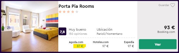 Hotel céntrico en Roma para fin de año desde 43,50€ por persona y noche