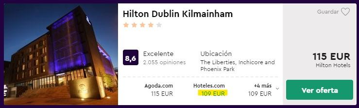hotel hilton 4 estrellas en dublin en febrero 2020 desde 54 euros persona y noche