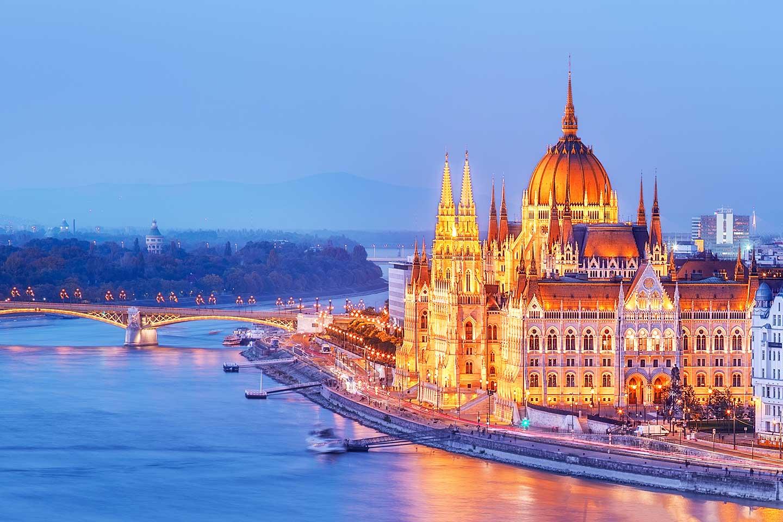 hungria budapest skyline