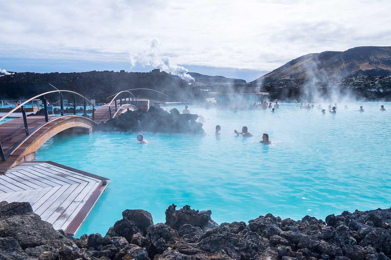 islandia grindavik laguna azul balneario geotermal