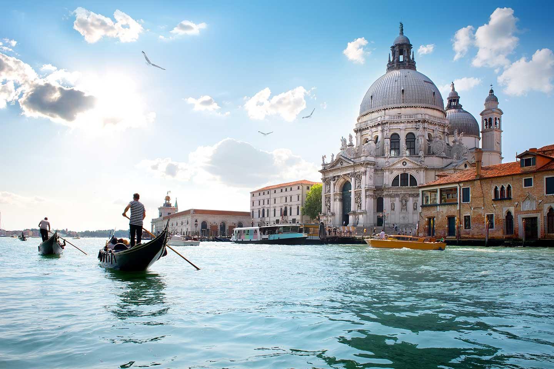 Viajar a Venecia, Italia