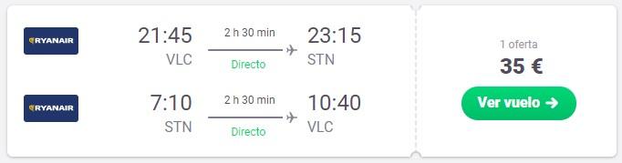 Vuela a Londres desde 17,50€ ¡Múltiples ciudades de salida!