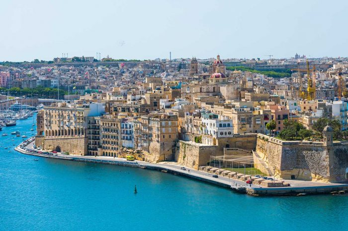 ¡Fin de Verano! Vuela a Malta desde 20€ trayecto