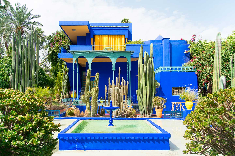 marruecos majorelle jardin botanico