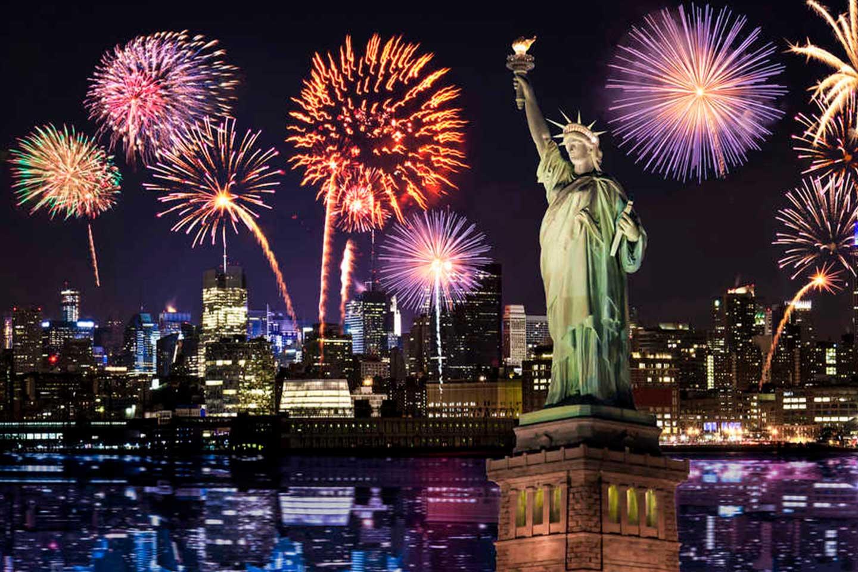 nochevieja en nueva york, estados unidos