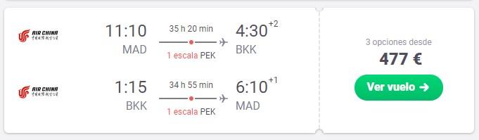 nochevieja en tailandia desde 238 euros trayecto